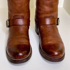 Frye Shoes - Frye Veronica Slouch Tall Leather Riding Boots